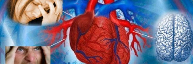 Инсульт и болезни сердца из-за стресса