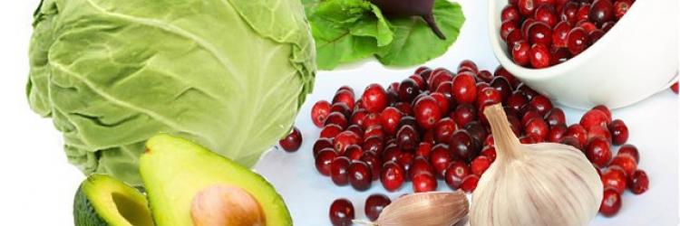 продуктов, способствующих естественному очищению организма