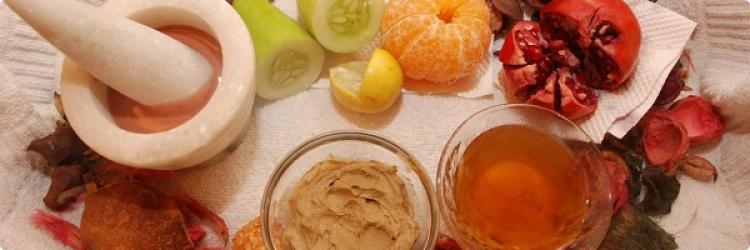 Домашние маски для лица из доступных овощей и фруктов