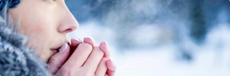 Помощь при обморожении: первые шаги