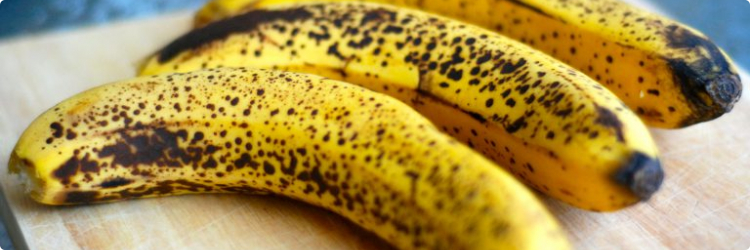 преимуществ употребления бананов в почерневшей кожуре