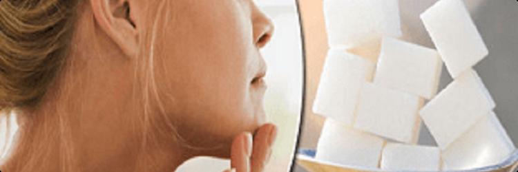 Высокое потребление сахара и состояние кожи