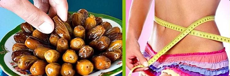Финики и их рецепты для похудения