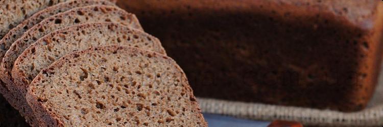 Калорийность черного хлеба