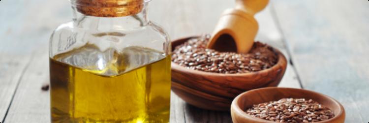 Льняное масло против морщин кожи лица