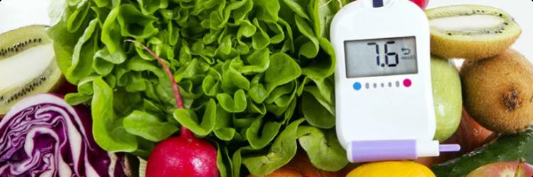 Рацион питания при сахарном диабете
