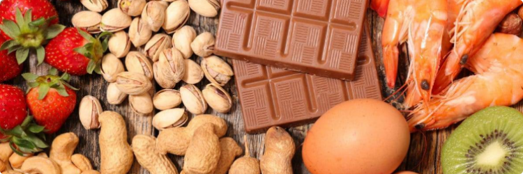 Топ продуктов вызывающих аллергию