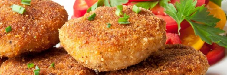 Жареная котлета из курицы – калорийное ли блюдо?