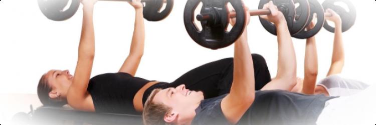 Формируем тело со свободными весами