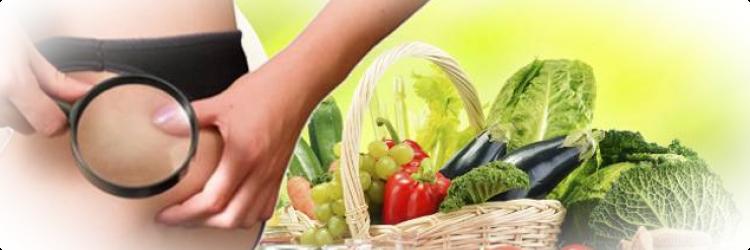 Как бороться с целлюлитом с помощью здорового питания