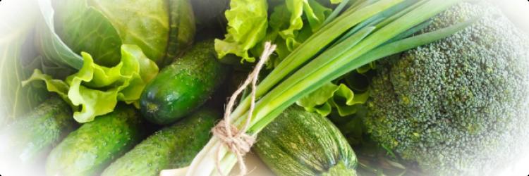 Почему так важно есть зелёные овощи?