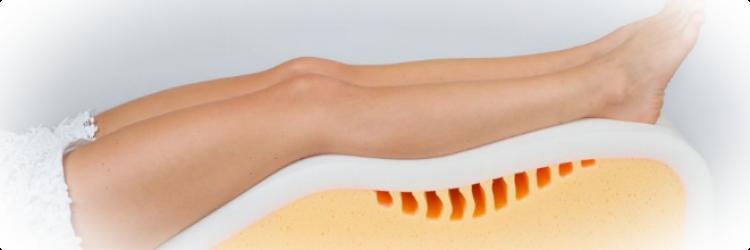 Подушка от варикоза: применение, полезные свойства