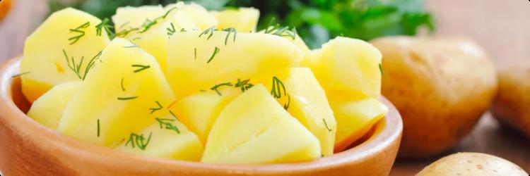 Польза вареного картофеля и его состав