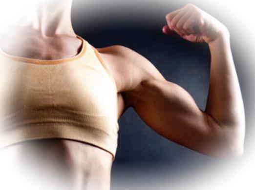 Развитие женской мускулатуры для красоты тела