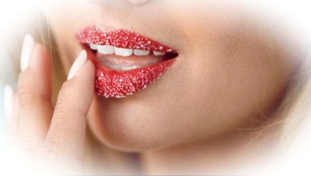 Состав домашнего скраба для ухода за губами