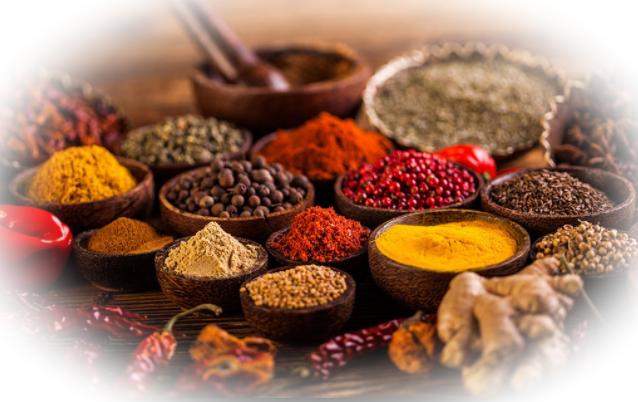 Самые популярные специи и приправы в индийской кухне.