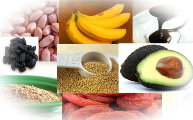 Калийсодержащие продукты и норма употребления