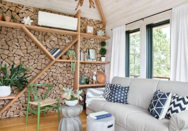Принцип оформления интерьера дома
